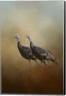 Wild Turkey At Shiloh Fine-Art Print