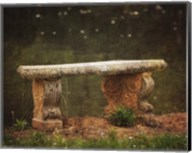 Waterside Bench Fine-Art Print