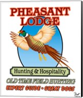 Pheasant Lodge Fine-Art Print