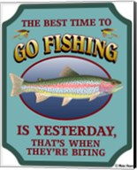 Best Time To Go Fishing Fine-Art Print