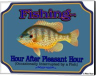 Fishing Hour After Hour Fine-Art Print