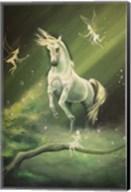 Unicorn Dances Fine-Art Print