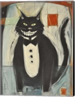 Gato Negro En Tux Fine-Art Print