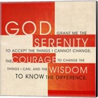 Serenity Prayer Fine-Art Print