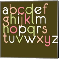 Contemporary Baby Letters II Fine-Art Print