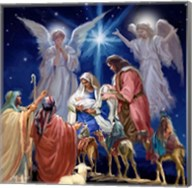 Nativity Collage 1 Fine-Art Print