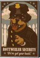 Rottweiler Security Fine-Art Print