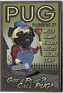 Pug Plumbing Co. Fine-Art Print