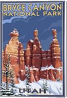 Bryce Canyon - Winter Fine-Art Print
