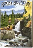 Alberta Falls Fine-Art Print