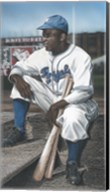 Jackie Robinson Minor League Royals Fine-Art Print