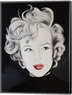 Kissy Face Marilyn Fine-Art Print