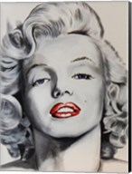 Pin up Marilyn Fine-Art Print