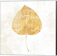 Bronzed Leaf II Fine-Art Print