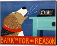Barkin for no Reason Beagle Fine-Art Print