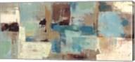 Teal and Aqua Reflections v2 Fine-Art Print