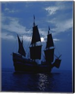 Replica of Mayflower II Fine-Art Print