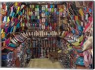 Shoe store, Essaouira, Morocco Fine-Art Print