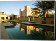 Dar Ahlam Kasbah a Relais and Chateaux Hotel, Souss-Massa-Draa, Morocco Fine-Art Print