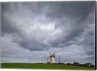 Ballycopeland Windmill, built circa 1800 and still working, Millsile, County Down, Ireland Fine-Art Print