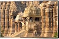 Khajuraho temple, Chhatarpur District, Madhya Pradesh, India Fine-Art Print