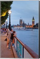 Big Ben and Houses of Parliament, City of Westminster, London, England Fine-Art Print