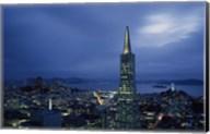 Transamerica Pyramid, Coit Tower, San Francisco, California Fine-Art Print