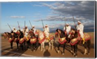 Berber Horsemen, Dades Valley, Morocco Fine-Art Print