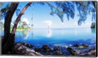 Rope Swing Over Water, Florida Keys Fine-Art Print
