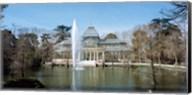 Palacio De Cristal, Madrid, Spain Fine-Art Print