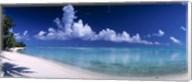 Matira Beach, Bora Bora Polynesia Fine-Art Print