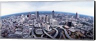 Ariel View of Atlanta, Georgia Fine-Art Print