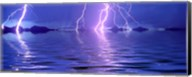 Lightning over the sea Fine-Art Print