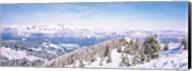 Ski resort, Reith Im Alpbachtal, Tyrol, Austria Fine-Art Print