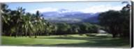 Makena Golf Course, Maui, Hawaii Fine-Art Print