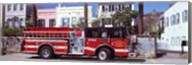 Fire Truck, Charleston, South Carolina Fine-Art Print