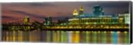 Cincinnati Buildings at Night, Ohio Fine-Art Print