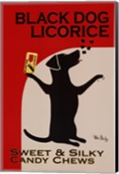 Black Dog Licorice Fine-Art Print