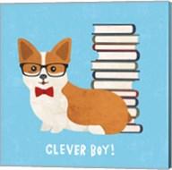 Good Dogs Corgi Bright Fine-Art Print