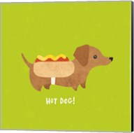 Good Dogs Dachshund Bright Fine-Art Print