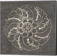 Rosette IV Gray Fine-Art Print