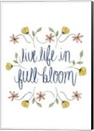 Flowers by Grace IV Fine-Art Print