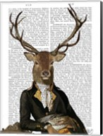 Deer in Chair Fine-Art Print