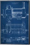 Locomotive Blueprint II Fine-Art Print