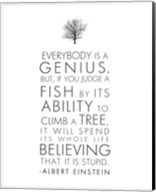 Everybody is a Genius Fine-Art Print