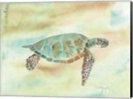 Crystal Tone Sea Turtle Fine-Art Print