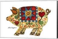 Festive Pig Fine-Art Print
