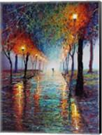 Rainy Day Stroll Fine-Art Print