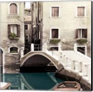 Teal Venice Fine-Art Print