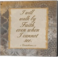 Walk In Faith Fine-Art Print